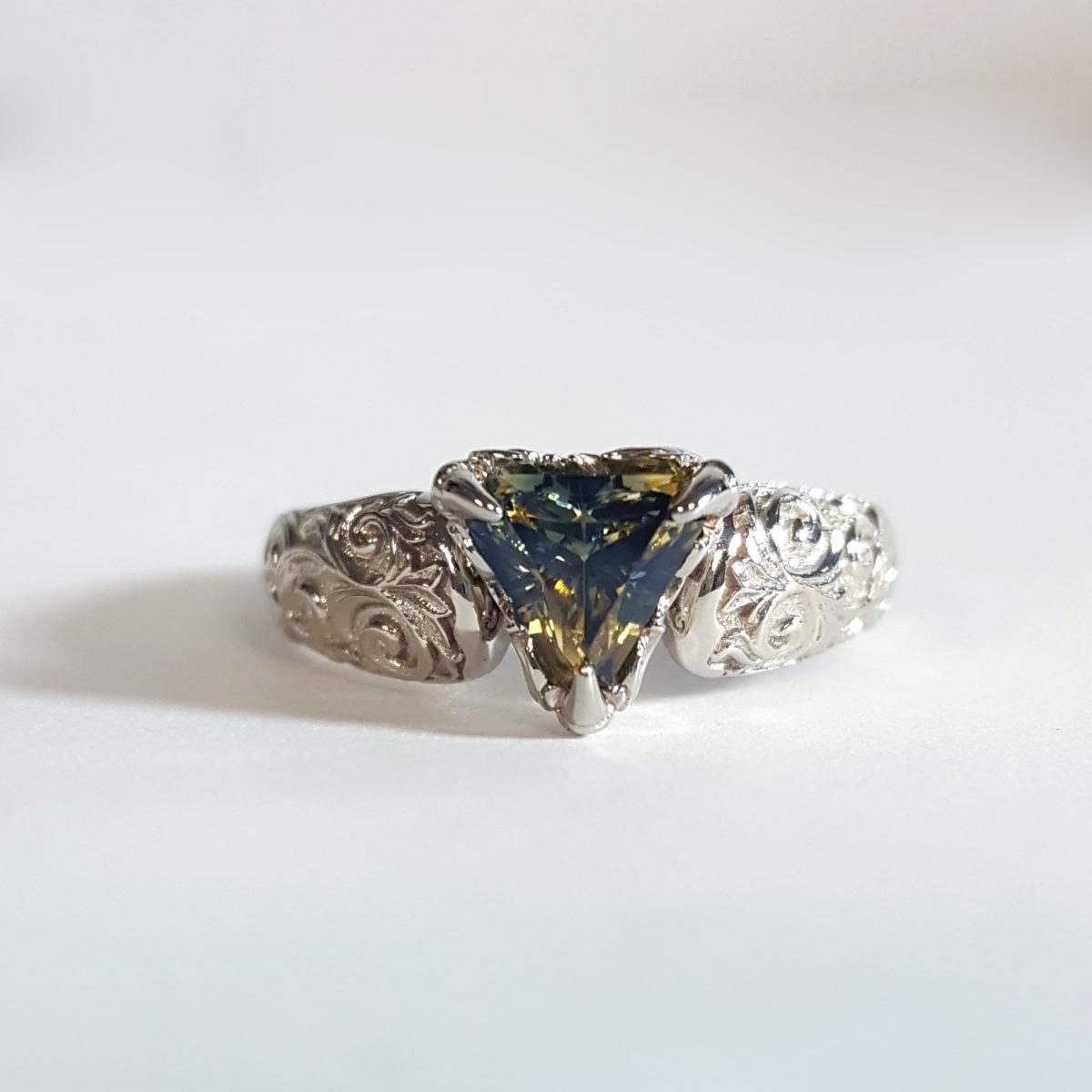 Unique Custom Engagement Rings