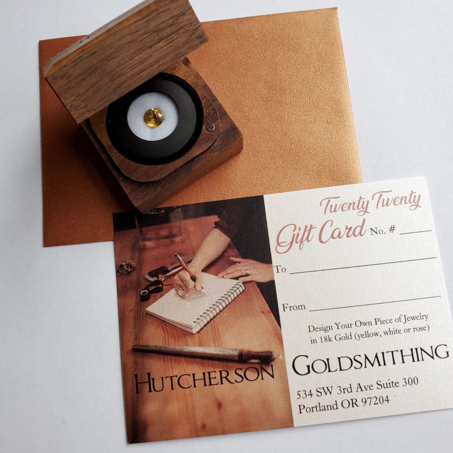 Gemstone and Gift Certificate Packages